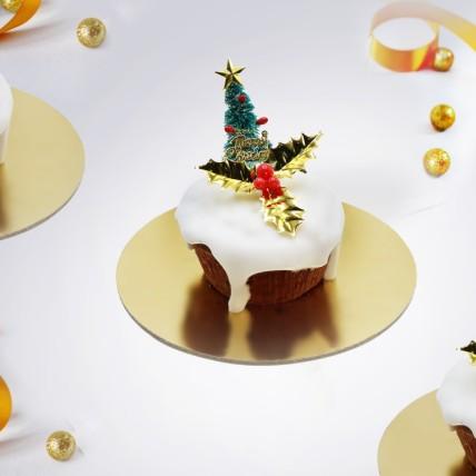 Mono Christmas Pudding Set of 2: Xmas Cake