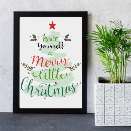 Merry Christmas Frame: