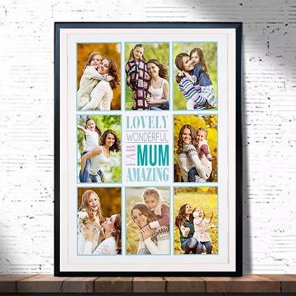 Wonderful Mom Photo Frame: Personalised Photo Frames