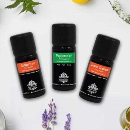 Set Of 3 Natural Essential Oils: Buy Home Fragrances