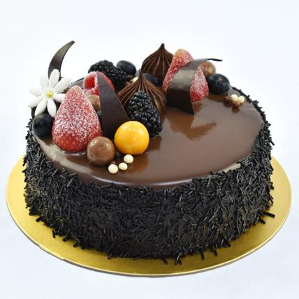 Fudge Cake: Anniversary Cake