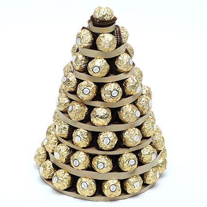 Ferrero Rocher Tower: Best Chocolate in Dubai