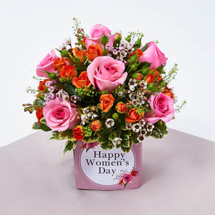 Womens Day Celebration Flowers: Women's Day Gifts