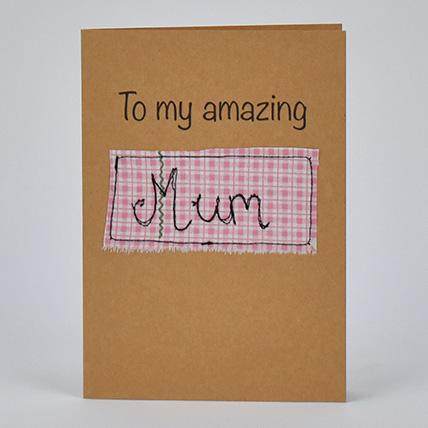 Amazing Mum Greeting Card: Greeting Cards
