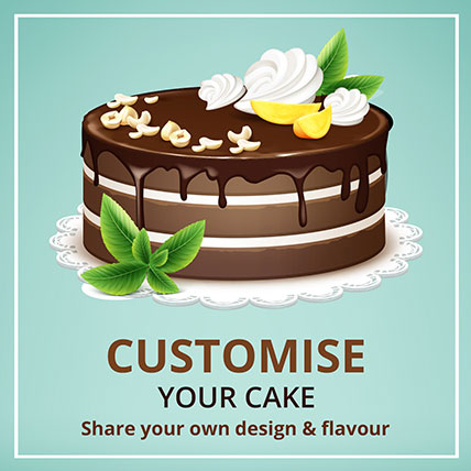 Customized Cake: Designer Cakes