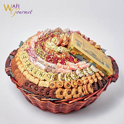 Gourmet Sweet Basket: Baklava Sweets
