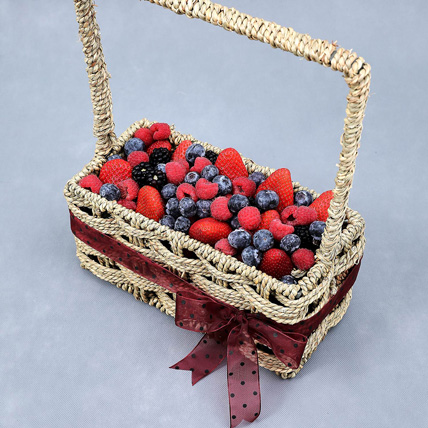 Berries Sensation Basket: Edible Gifts