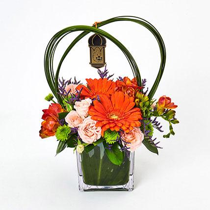 Ramadan Special Mixed Flowers Arrangement: Eid Flowers