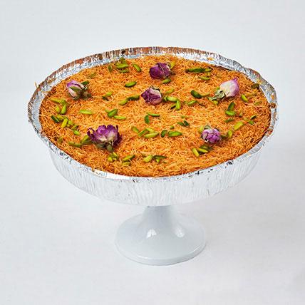 The Perfect Kunafa Cheesecake 8 Portion: Edible Gifts