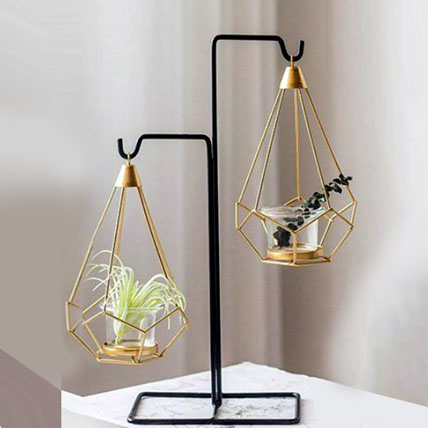 Hanging Candle Stand: Candles