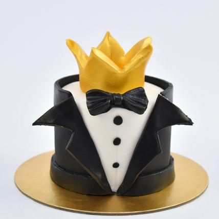 Best man Mono cake: