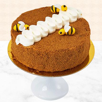 Exotic Honey Cake 4 Portion:
