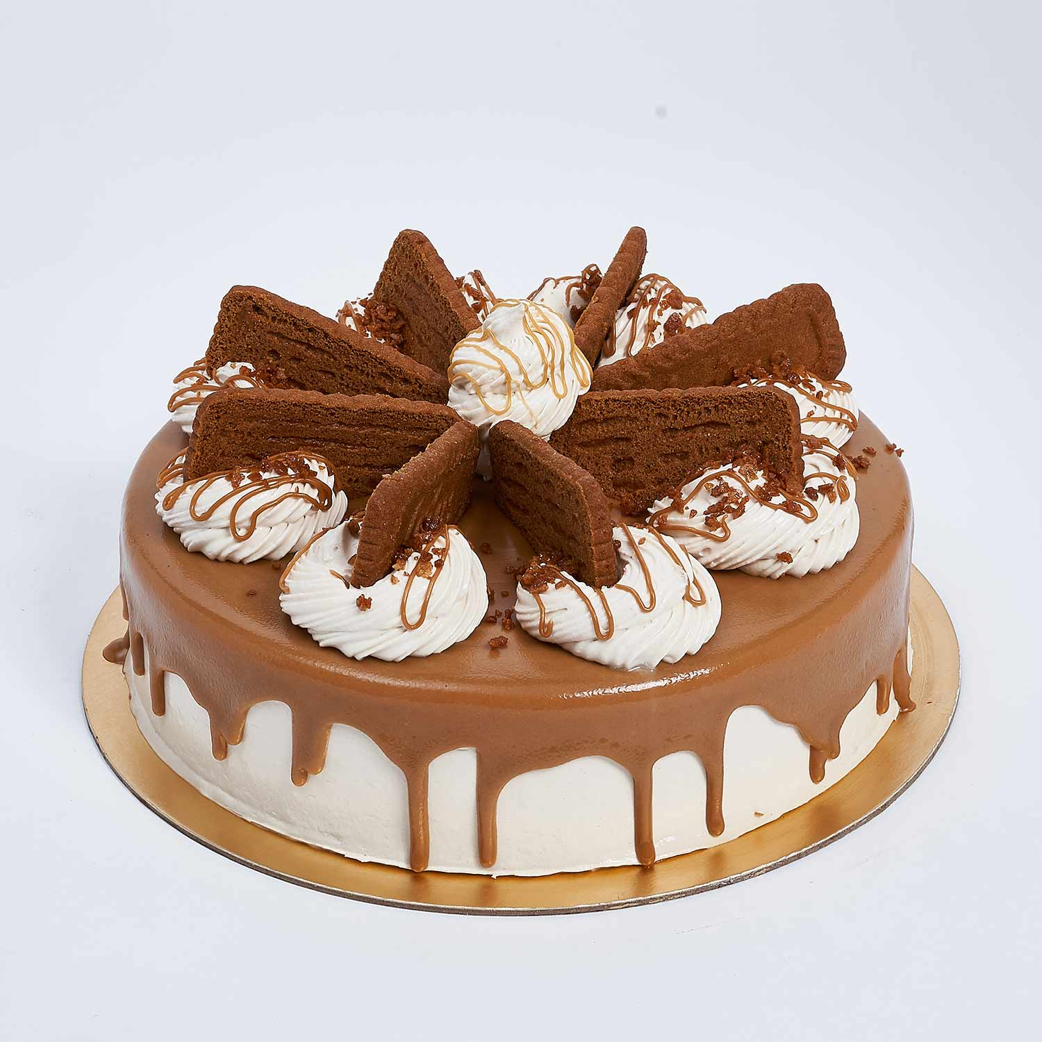 Heavenly Lotus Biscoff Cake: Eggless Cakes for Birthday