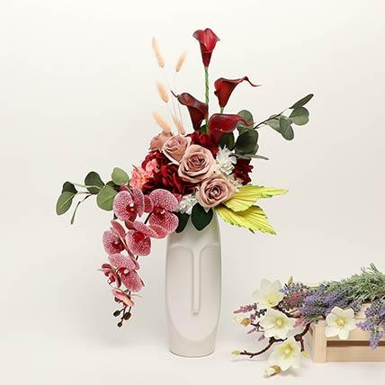 Exquisite Artificial Mixed Flowers Arrangement: Artificial Flowers Dubai