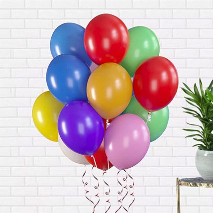Mixed Colour Latex Balloons: Helium Balloons Dubai