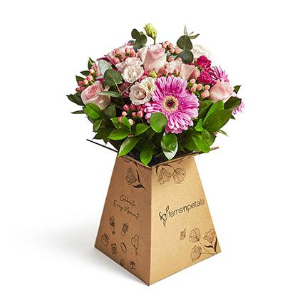Pink Belle: Flower in a Box