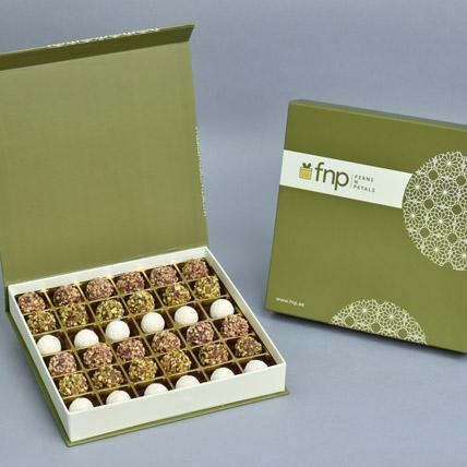 Premium Mixed Flavour Chocolate Truffles: Raksha Bandhan Chocolates
