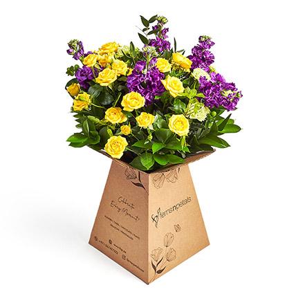 Simply Yellow n Purple: