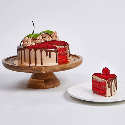 Chocolaty Red Velvet Cake: