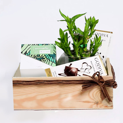 The Faithful Greens Care Hamper With Goodies: