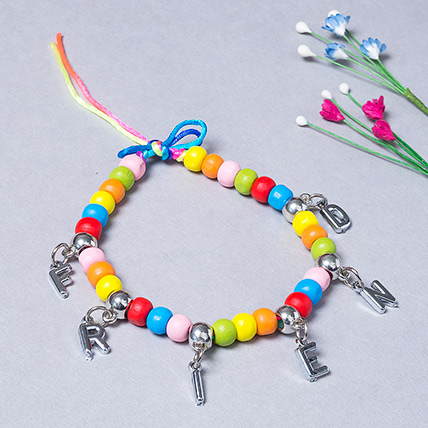 Multicolor Wooden Beads Band: Friendship Day Bands