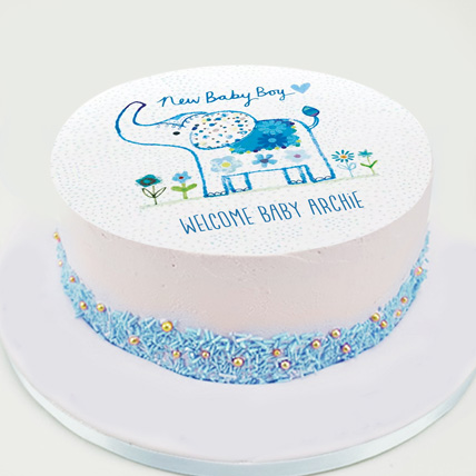 New Baby Boy Cake: Cakes for New Born