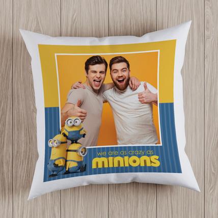 Personalized Minion Cushion: Friendship Day Gift Ideas