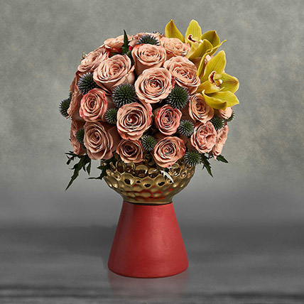 Being Peachy Being Beautiful: Luxury Flowers Dubai