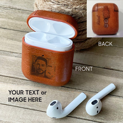 Personalised Engraved Airpod Cover: