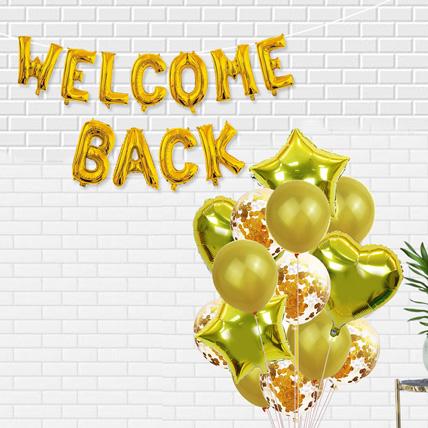 Welcome Back Golden Balloon: Helium Balloons Dubai