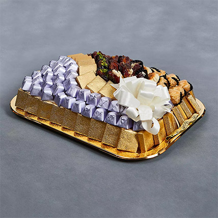 Delightful Medium Platter: Baklava Sweets