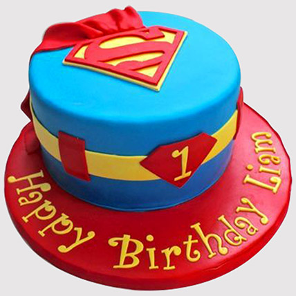 Super man Cake: