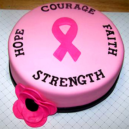 Wishes of Strength Cake:
