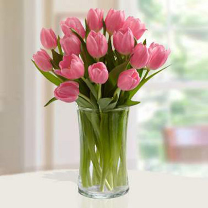 Pink Tulips Arrangement PH: Flower Delivery in Philippines