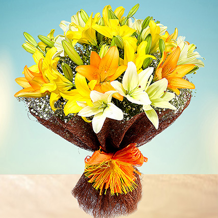 Sunny Asiatic Lilies PH: Flower Delivery Makati
