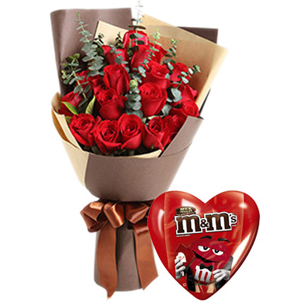 Valentines Roses Combo: Valentines Day Gifts to Philippines