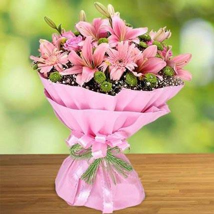 Pink Beauty QT: Flowers to Doha