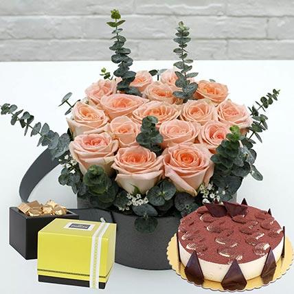 Delightful Tiramisu Cake & Patchi Chocolates: Combos