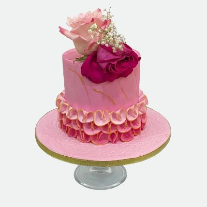 Floral Cake: Cake Delivery in Qatar