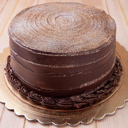 12 Portion Chocolate Fudge Cake: Cakes To Abha