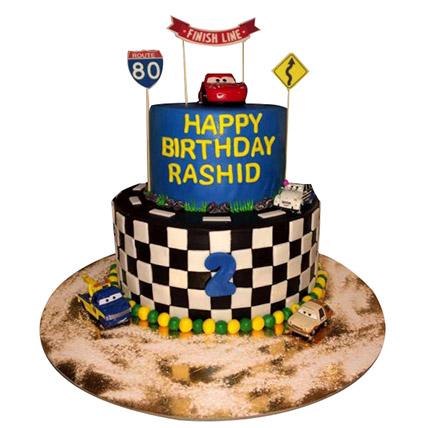 Car Race Cake: Cakes To Dhahran