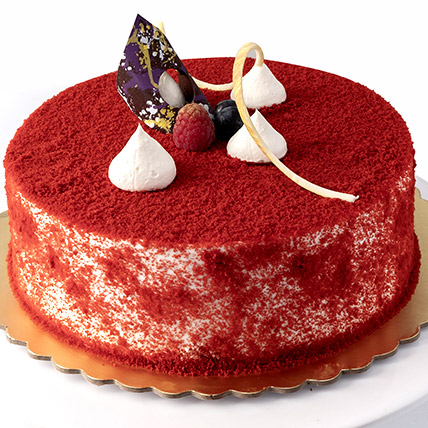Red Velvety Cake: Gifts To Al-Jubail