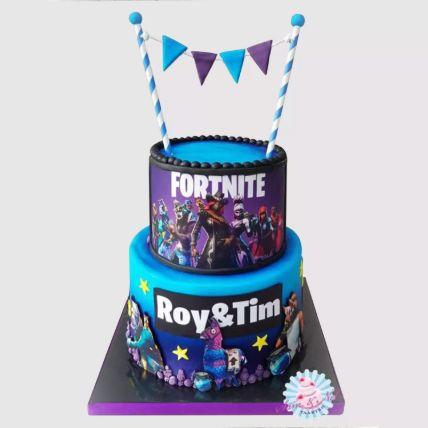 2 Tier Fortnite Cake: Cakes To Hail