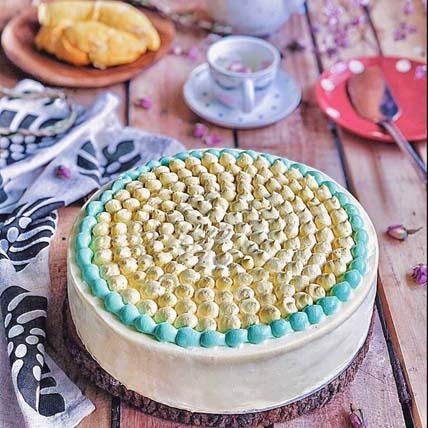 Mao Shan Wang Durian Vanilla Cake: Cake Delivery Singapore