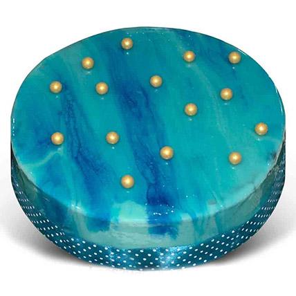 Blueberry Ribbon Cake: Send Gifts To Sri Lanka