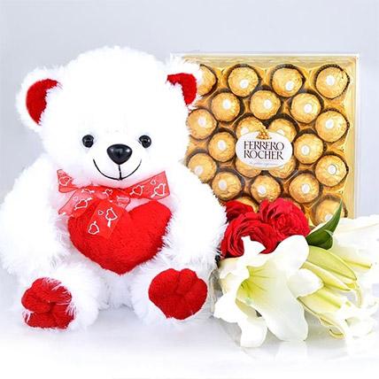 Sweet Love Gift Hamper: Send Gifts To Sri Lanka