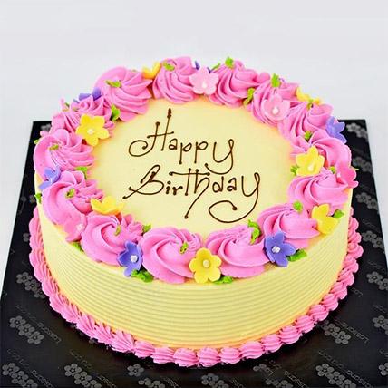 Vanilla Ribbon Cake: Cake Delivery Sri Lanka