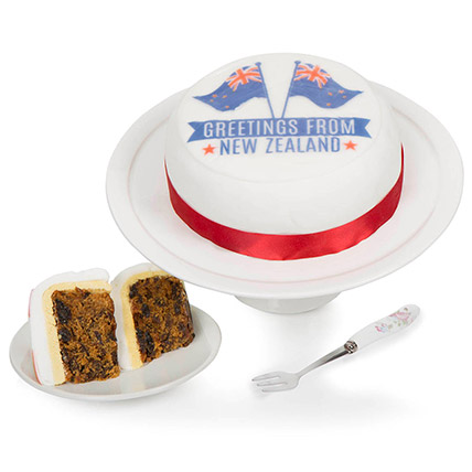 Greetings From New Zealand Fruit Cake: Send Cake to UK