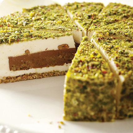 Pistachio Cream Cake: