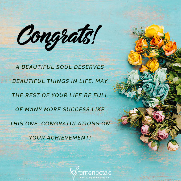 Congratulations Quotes